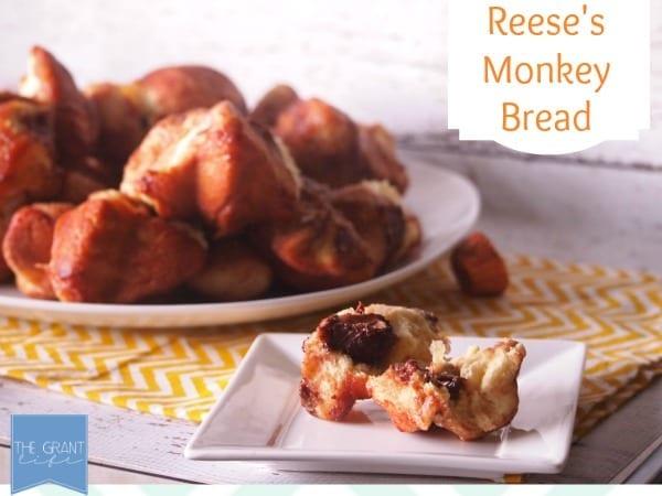Reese's Monkey Bread!  So easy!  So good!  via thegrantlife.com