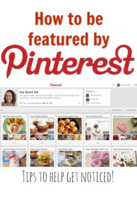 Tips to getting featured by Pinterest