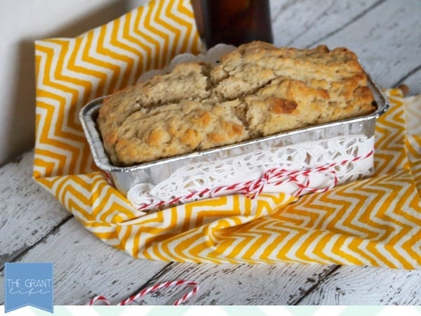 beer bread recipe via thegrantlife.com