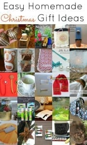 Easy Homemade Christmas Gift Ideas