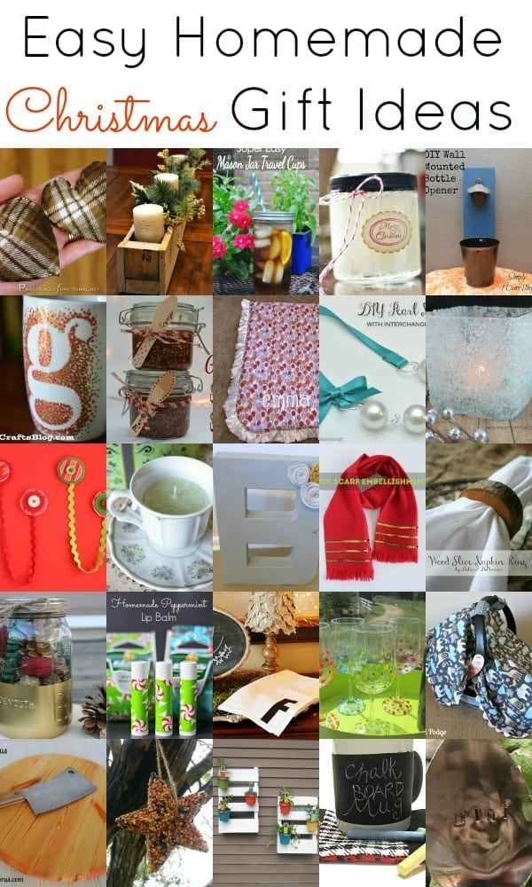 Easy homemade christmas gift ideas images frompo Homemade christmas gifts