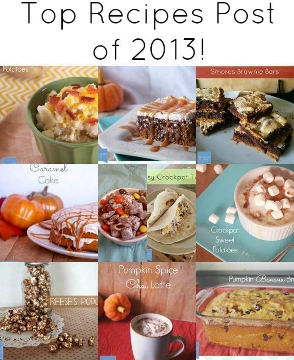 Top Recipes Posts of 2013
