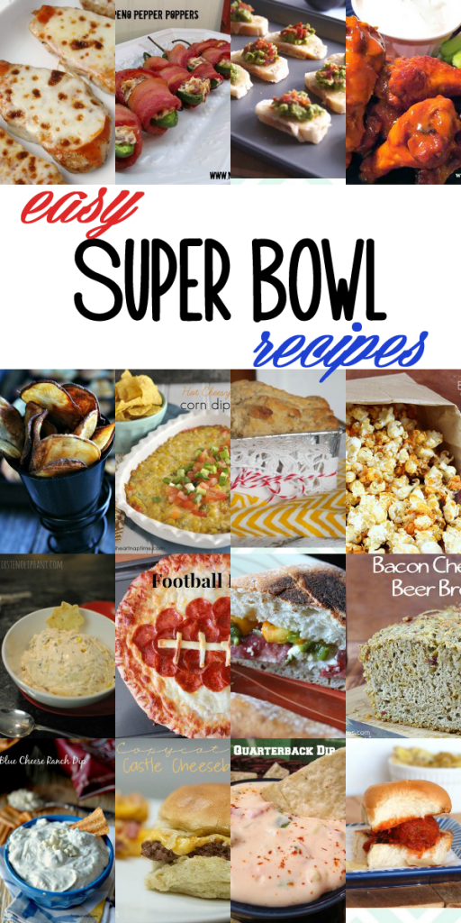 Easy Superbowl Recipe Ideas via thegrantlife
