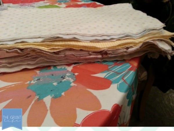 old receivng blankets