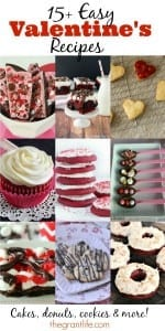 15+ easy Valentine's recipe ideas