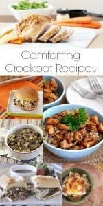 Comforting Crockpot Recipes