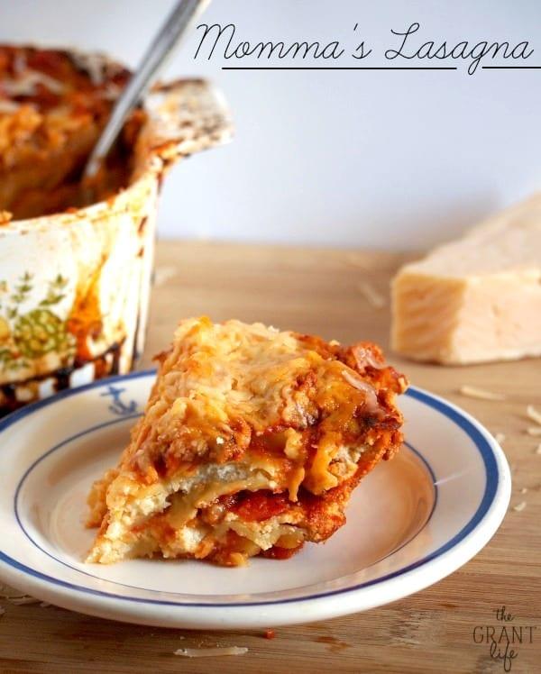 My Italian mommas homemade lasagna recipe! It can't be beat!