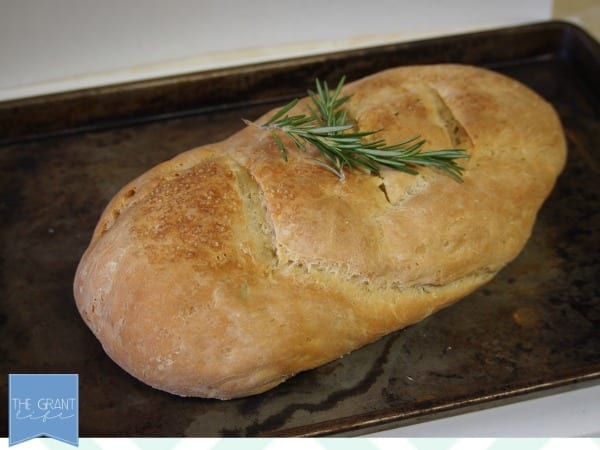 rosemary and sea salt french bread