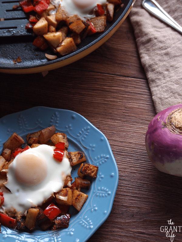 Delicious turnip hash