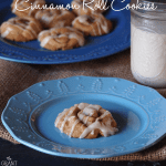 Easy cinnamon roll cookies!