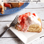 Ricotta Cake with Strawberry Pineapple Compote