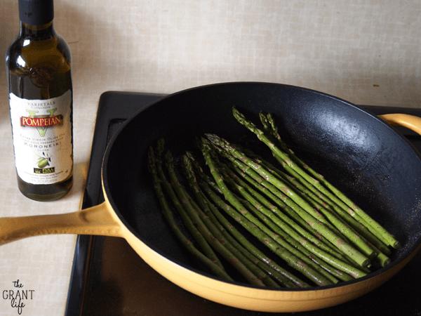 Roasted aspargus