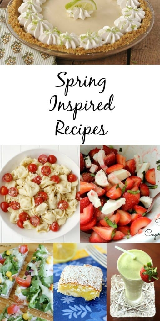 Spring Inspired Recipes.