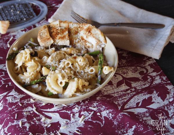 leek and asparagus pasta