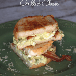 Avocado Egg Salad Grilled Cheese