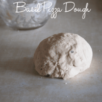 Basil Pizza Dough