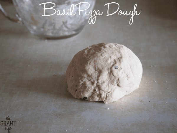 Basil Pizza Dough Recipe