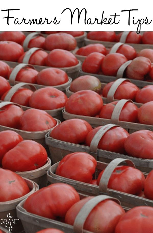 Farmer's Market Tips