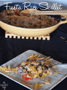 Fiesta rice skillet
