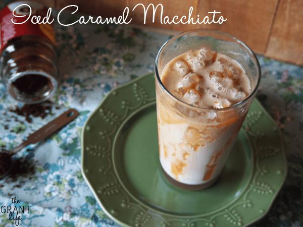 Iced Caramel Macchiato - Starbucks Copycat!
