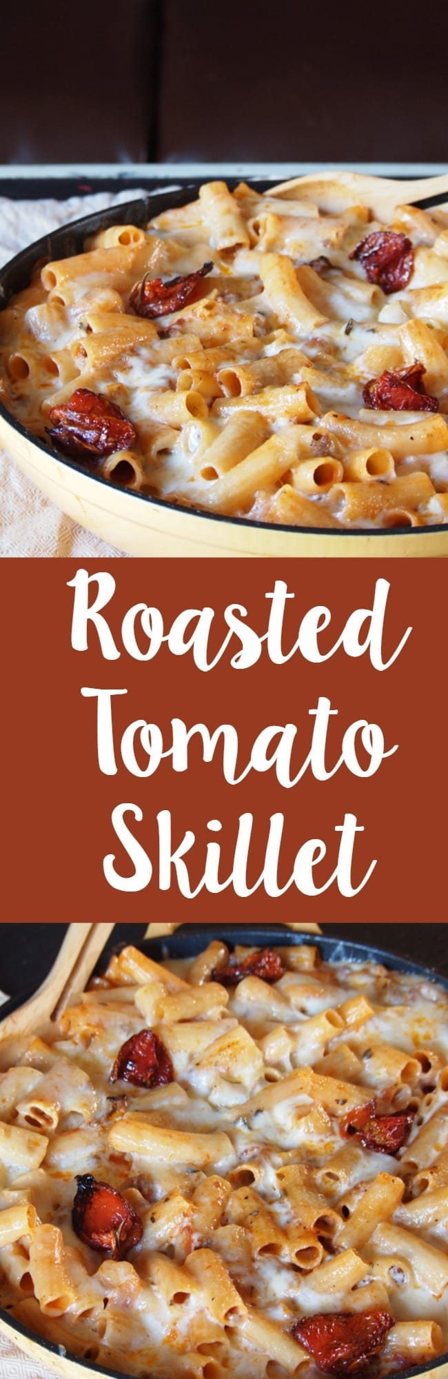 Roasted tomato skillet dinner recipe