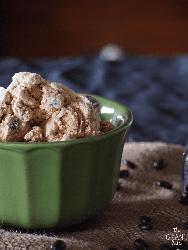 Java Chocolate Chip Ice Cream - the Grant life