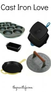 Cast iron love - fun pieces to add to your collection!