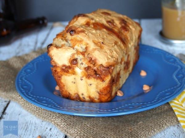 butterscotch pecan beer bread