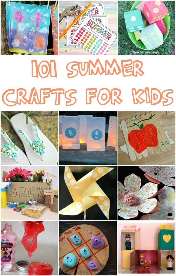 101 summer crafts for kids mom makes dinner for 101 crazy crafting ideas