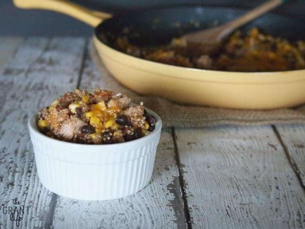 Easy Chipotle Quinoa Skillet Recipe