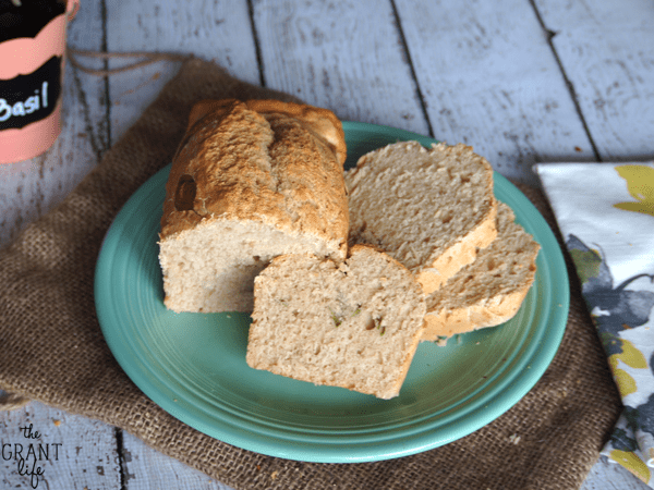 Easy Sweet Basil Beer Bread