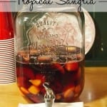 Easy Tropical Sangria Recipe #yellowtail