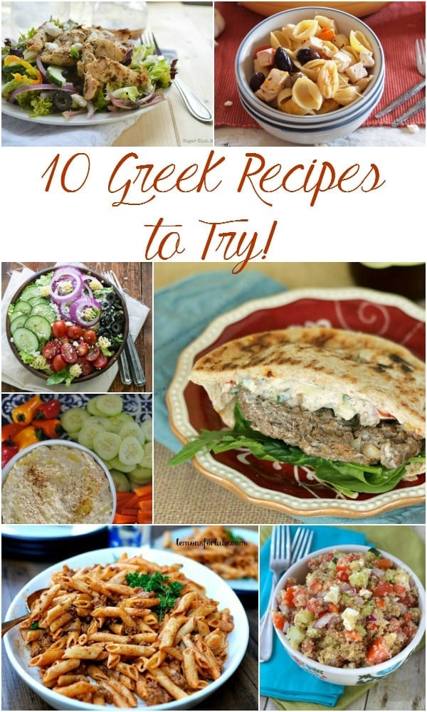 10 Greek Recipes to Try!
