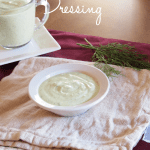 Avocado Buttermilk Dressing - so creamy!  Whip up a batch in under 5 minutes.