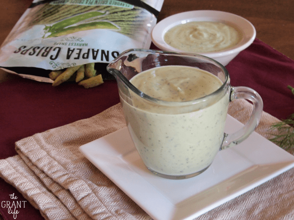 Easy avocado buttermilk dressing