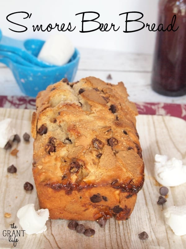Smores beer bread
