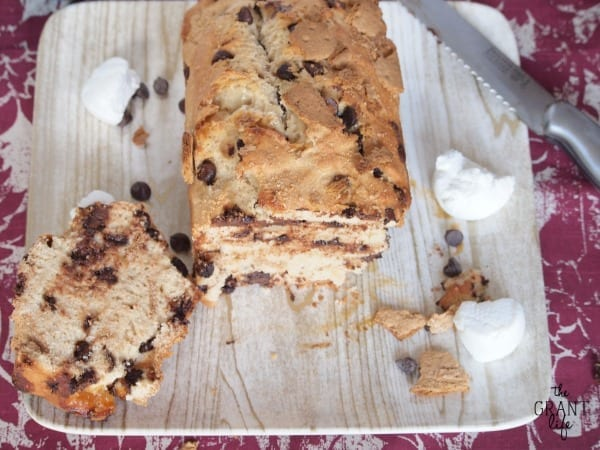 smores beer bread!