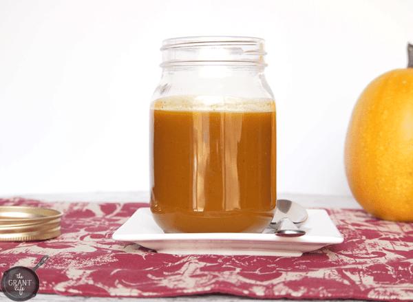 Easy pumpkin sauce