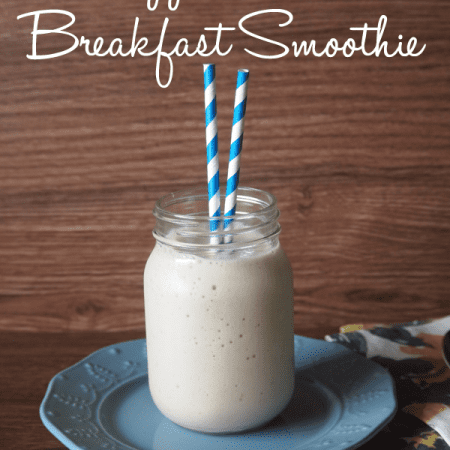 Pineaple coconut breakfast smoothie
