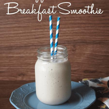 Pineaple coconut breakfast smoothie