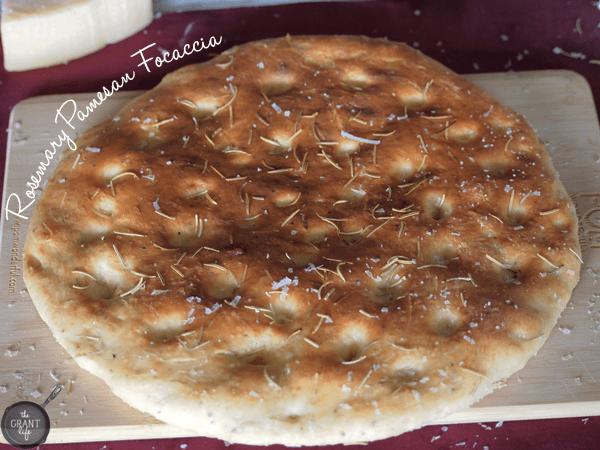 rosemary parmesan focaccia bread