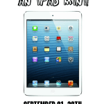 Enter to win an iPad Mini!  One winner will win a 16 gig iPad mini - keep it or save it for an early Christmas present!