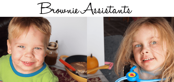 my brownie assistants