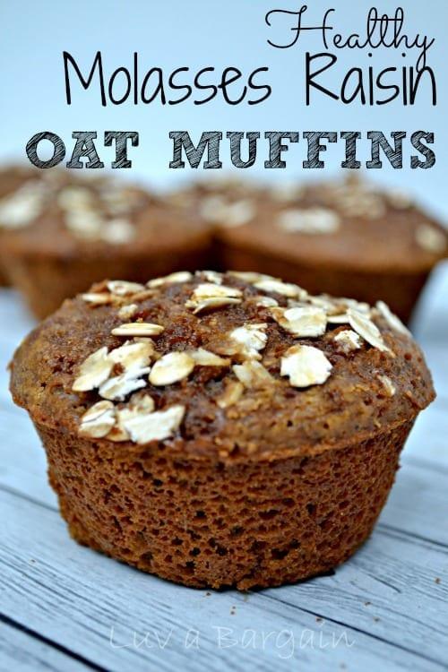 Healthy-Molasses-Raisin-Oat-Muffins1