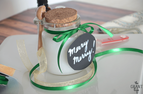 Christmas sugar scrub recipe