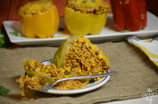 southwest crockpot stuffed pepper recipe