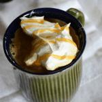 Easy eggnog latte