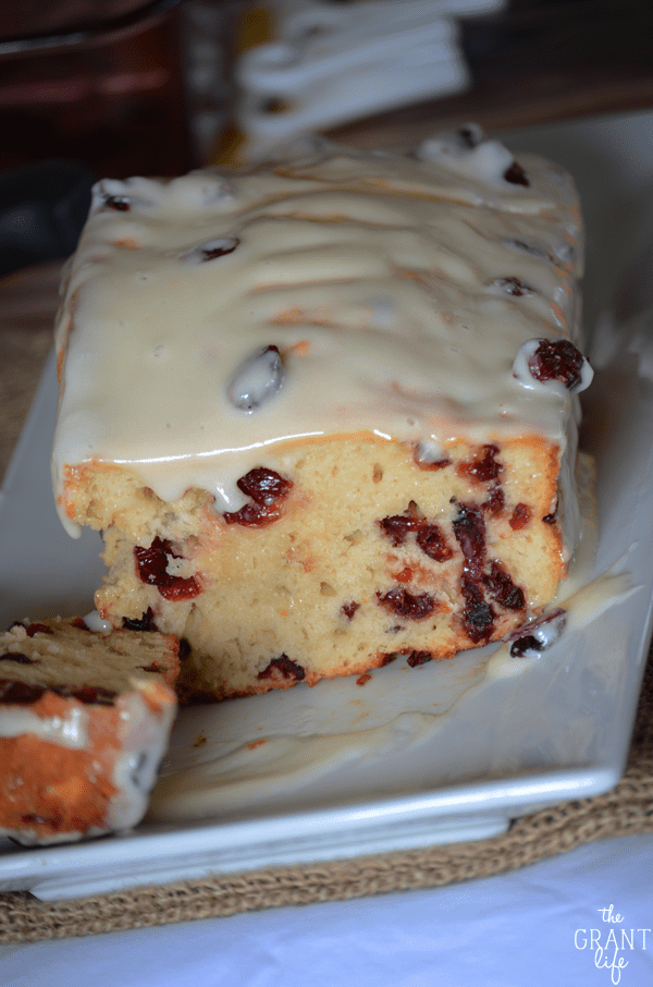 The easiest cranberry orange beer bread recipe