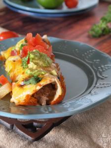 Crock pot roast enchiladas recipe