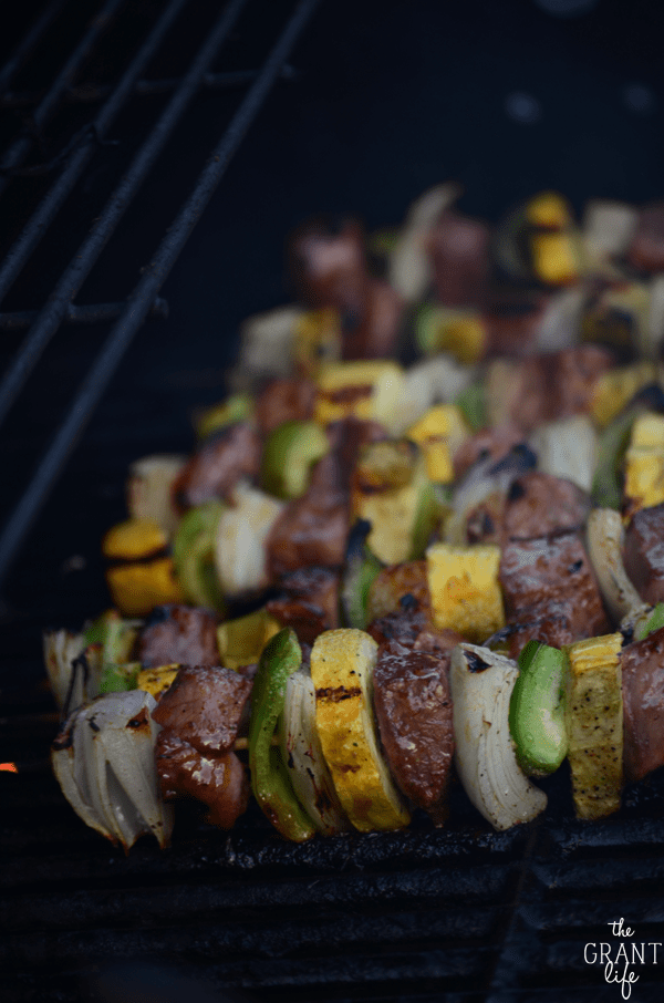 Easy grilled kebab recipe